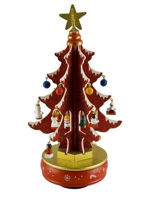 Композиция музыкальная Mister Christmas. Цвет: красный
