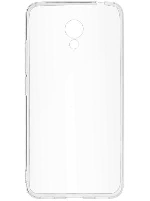 Накладка для Meizu M5C skinBOX. Цвет: прозрачный