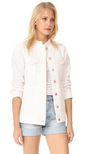 Пиджак из денима Doublestar AYR. Цвет: потертый белый