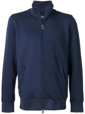 Куртка с вышивкой Hydrogen. Цвет: синий