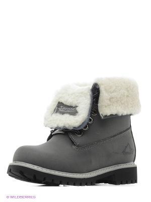 Ботинки Sprandi. Цвет: серый