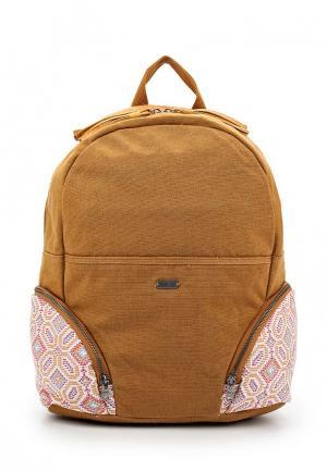 Рюкзак Roxy. Цвет: коричневый