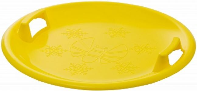 Санки-тарелка Пчёлка