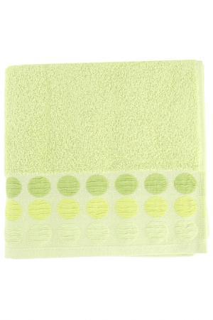 Полотенце махровое, 50х90 см BRIELLE. Цвет: зеленый