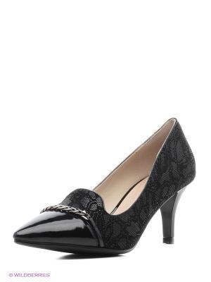 Туфли Renaissance. Цвет: серый