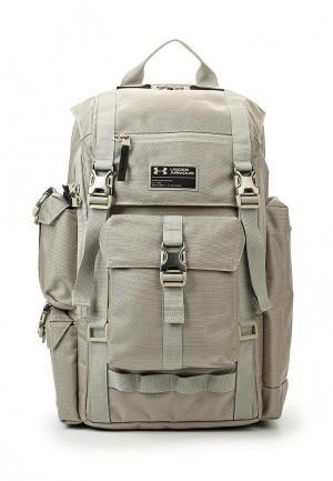 Рюкзак Under Armour. Цвет: бежевый