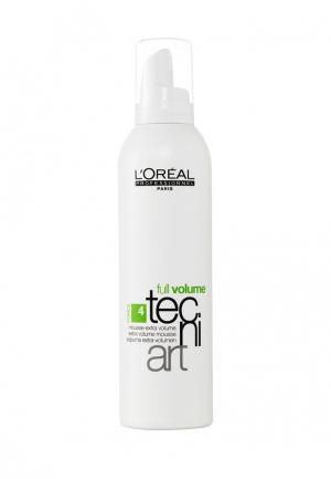 Мусс для объема тонких волос LOreal Professional L'Oreal. Цвет: белый