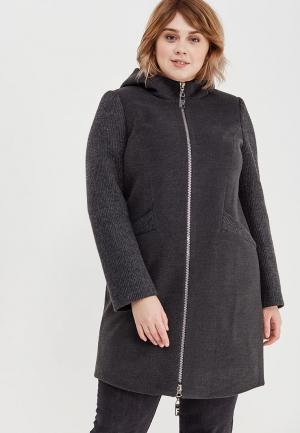 Пальто Grand Madam. Цвет: серый