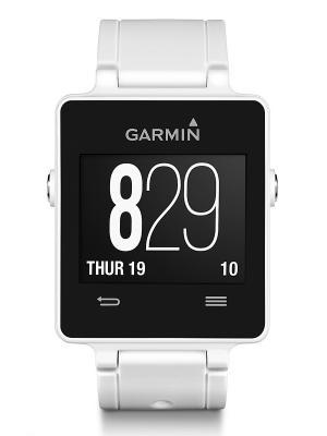 Смарт-часы vivoactive White GARMIN. Цвет: белый