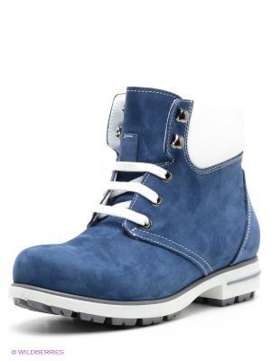 Ботинки WAYKO. Цвет: синий, белый