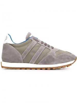 Кроссовки со шнуровкой Alberto Fasciani. Цвет: серый