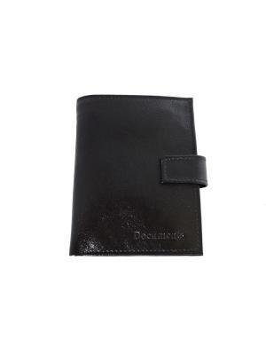 Бумажник КФК. Цвет: черный