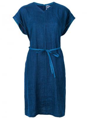 Denim tunic dress Blue Japan. Цвет: синий