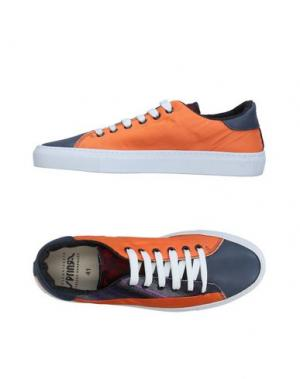 Низкие кеды и кроссовки SPRINGA. Цвет: оранжевый
