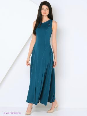 Платье МадаМ Т. Цвет: морская волна