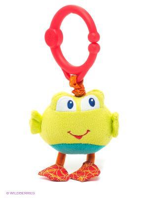 Развивающая игрушка Дрожащий дружок, Лягушка BRIGHT STARTS. Цвет: салатовый