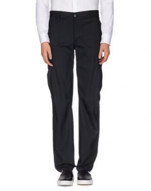 Повседневные брюки U CLOTHING. Цвет: темно-синий