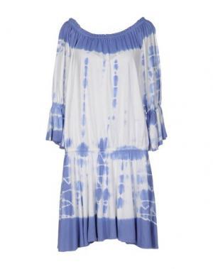 Короткое платье MONICA •LENDINEZ. Цвет: фиолетовый