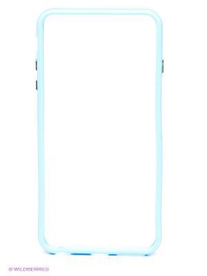 Бампер для iPhone 6 plus WB. Цвет: голубой