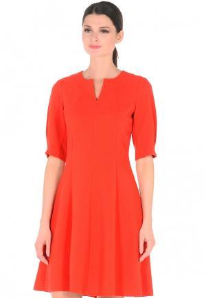 Платье Dlys D'lys. Цвет: оранжевый