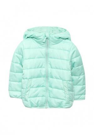Куртка утепленная Incity. Цвет: бирюзовый