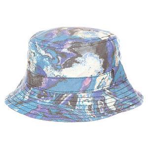 Панама  Walker Bucket Hat Ultra Violent Globe. Цвет: синий,мультиколор