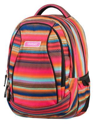 Рюкзак Allover 4 Target. Цвет: синий, оранжевый, фуксия