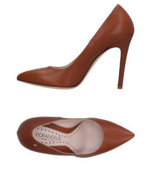 Туфли FIORANGELO. Цвет: коричневый