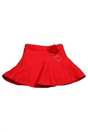 Юбка Vitacci. Цвет: красный