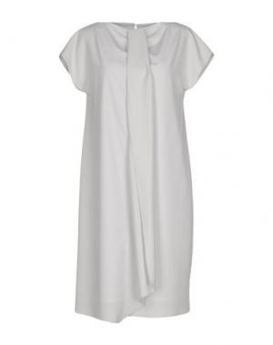Короткое платье TROU AUX BICHES. Цвет: светло-серый