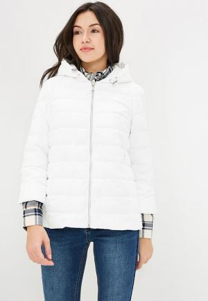 Куртка утепленная Grishko. Цвет: белый