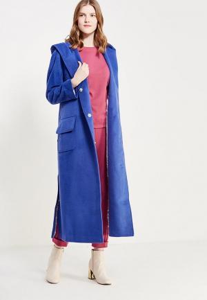 Пальто Demurya Collection. Цвет: синий