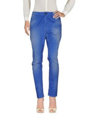Повседневные брюки E_GO' SONIA DE NISCO. Цвет: синий