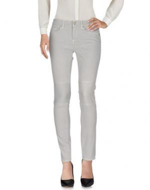Повседневные брюки INTROPIA. Цвет: светло-серый