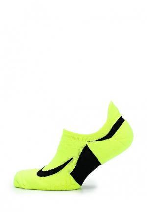 Носки Nike. Цвет: желтый