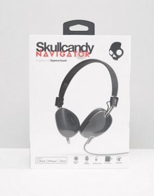 Skull Candy Наушники с микрофоном Skullcandy Navigator. Цвет: черный