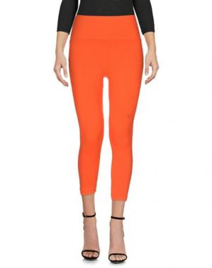 Легинсы LUCAS HUGH. Цвет: оранжевый