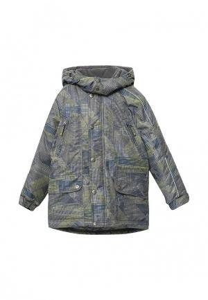 Куртка утепленная Saima. Цвет: серый