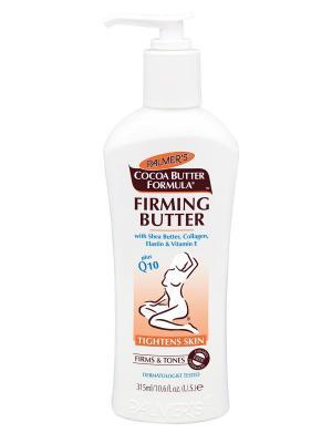 Крем укрепляющий для тела с маслом какао и коэнзимом Q10 315 мл Palmer's. Цвет: белый