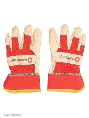 Перчатки SPIELSTABIL. Цвет: красный, светло-бежевый