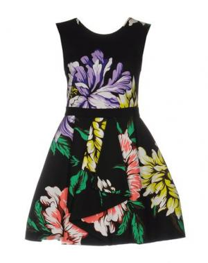 Короткое платье MARCO BOLOGNA. Цвет: черный