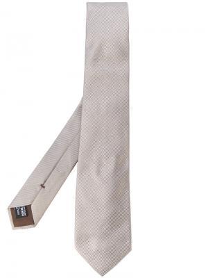 Классический галстук Giorgio Armani. Цвет: телесный