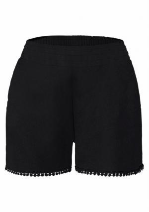 Пляжные шорты Lascana. Цвет: с рисунком