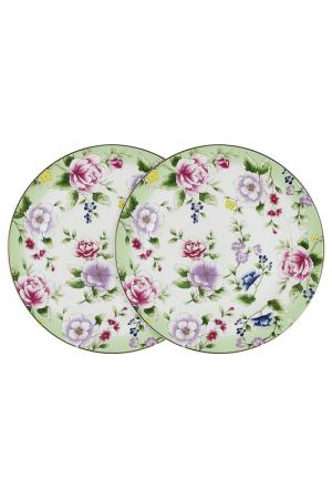 Набор из 2-х обеденных тарелок Colombo. Цвет: мультиколор