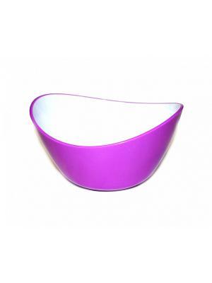 Салатник овальный фиолетовый BRADEX. Цвет: фиолетовый