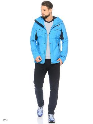 Куртка ARRANO The North Face. Цвет: голубой