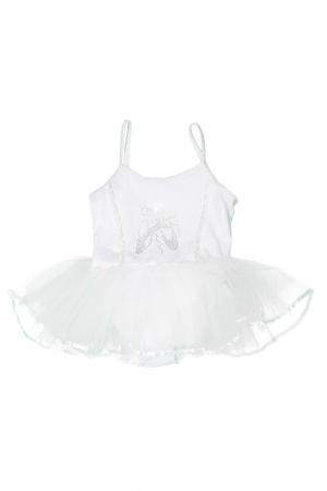 Платье Banino. Цвет: белый