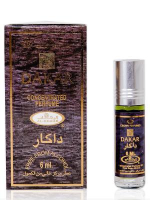 Арабские масляные духи Дакар (Dakar), 6 мл Al Rehab. Цвет: темно-фиолетовый