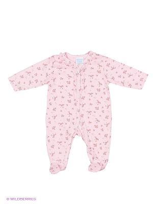 Комбинезон Cutie Bear. Цвет: розовый, белый