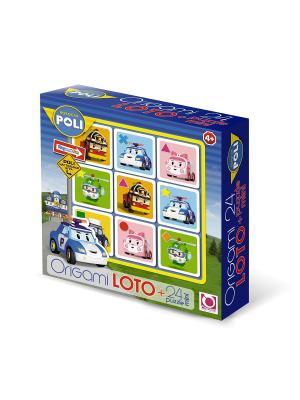 Настольная игра Робокар Поли Лото. Пазл в комплекте. Robocar Poli. Цвет: зеленый, красный, розовый, синий